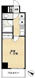 ドゥーエ船堀[2階]の間取り