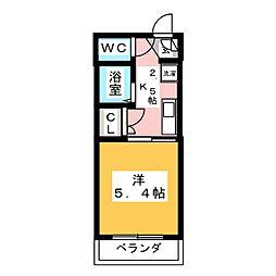 コトヅカ3[3階]の間取り