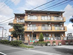 大阪府茨木市南安威2丁目の賃貸マンションの外観