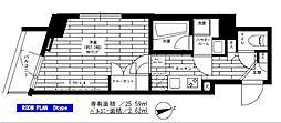 ステージグランデ用賀アジールコート[4階]の間取り