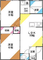 [一戸建] 埼玉県さいたま市北区本郷町 の賃貸【/】の間取り
