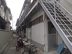 大阪府豊中市庄内東町6丁目の賃貸アパートの外観