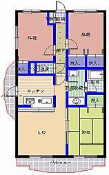 T・グラディオマンション[205号室]の間取り