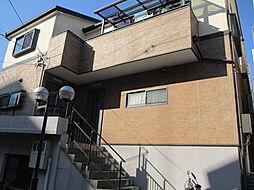 兵庫県神戸市中央区中山手通6丁目の賃貸アパートの外観