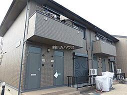 埼玉県上尾市東町2丁目の賃貸アパートの外観