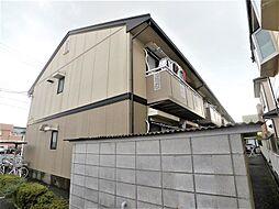 埼玉県越谷市平方南町の賃貸アパートの外観