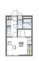 鷹之台[2階]の間取り