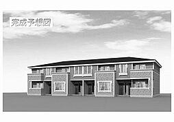 福岡県飯塚市綱分の賃貸アパートの外観