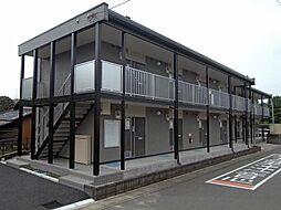 埼玉県さいたま市見沼区東大宮2の賃貸アパートの外観