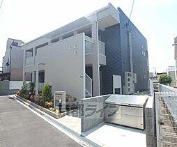 大阪府枚方市田口の賃貸アパートの外観