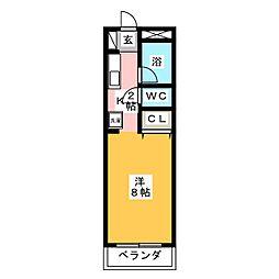 MAK前橋II[1階]の間取り