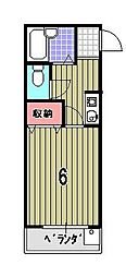 SOLEIL春日[305号室]の間取り