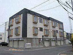 第17森宅建マンション[1階]の外観