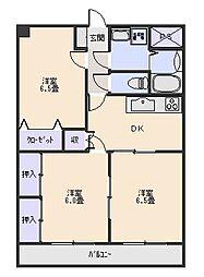 ベストグランシャリオ[5階]の間取り