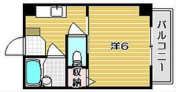 岩井ビル[301号室]の間取り