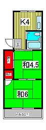 ブライズ6[2階]の間取り