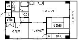 第3吉川ビル[3階]の間取り