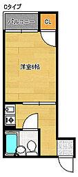 サニーハイツタカヨシ[5階]の間取り