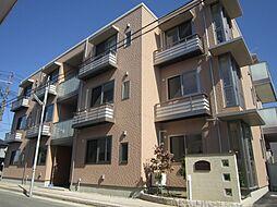 新潟県新発田市大手町1丁目の賃貸アパートの外観