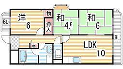 コンフォートステージI[1階]の間取り