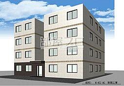 北海道札幌市東区北十四条東2丁目の賃貸マンションの外観