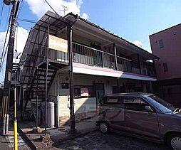 京都府長岡京市勝竜寺の賃貸アパートの外観