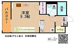 神奈川県大和市柳橋2丁目の賃貸マンションの間取り