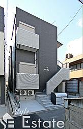愛知県名古屋市千種区青柳町7の賃貸アパートの外観