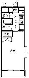 神奈川県平塚市四之宮2丁目の賃貸マンションの間取り