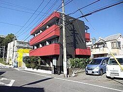 東京都日野市東豊田3丁目の賃貸マンションの外観