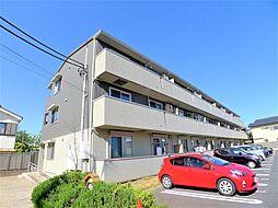 埼玉県越谷市越ヶ谷の賃貸アパートの外観