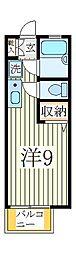 第3フジハイツ[2階]の間取り