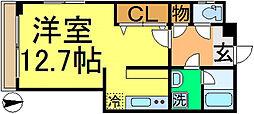 三家第2ビル[3階]の間取り