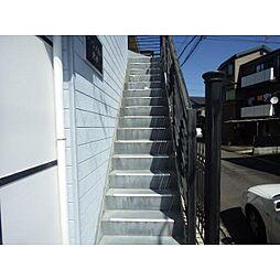 静岡県静岡市清水区堂林2丁目の賃貸アパートの外観
