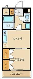 兵庫県姫路市八代宮前町の賃貸マンションの間取り