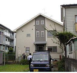 神奈川県横浜市鶴見区獅子ケ谷1丁目の賃貸アパートの外観