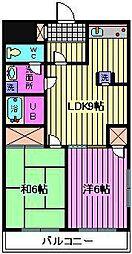 サンハイツ斎藤[101号室]の間取り