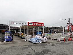 DCMカーマ 弥富店。品揃え、雰囲気ともに地域に密着した規模のカーマです。 徒歩 約7分(約510m)