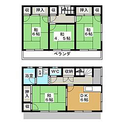 稲毛駅 8.0万円