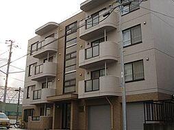 北海道札幌市白石区平和通8丁目北の賃貸マンションの外観
