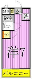 日神パレス竹ノ塚[1階]の間取り
