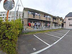 兵庫県伊丹市池尻7丁目の賃貸アパートの外観