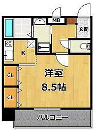 仮称)LOCUS1 南武庫之荘1丁目新築[201号室]の間取り