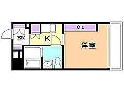 TEC札幌 テック[3階]の間取り