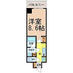 エルスタンザ徳川[12階]の間取り