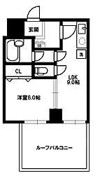 サンパレス新大阪[8階]の間取り