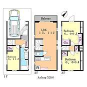 3LDK 建物面積:82.31平米