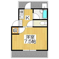カーサ下鴨[2階]の間取り
