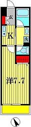 センタービレッジ常盤平II[2階]の間取り