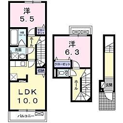 和(Nagomi)[2階]の間取り